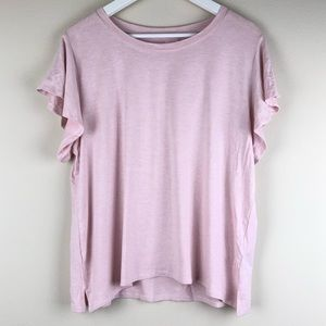 PAPINELLE Pink Flutter Sleep Top XL NWT Pajama Tee